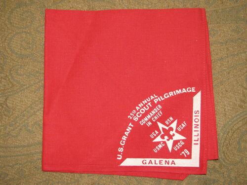 U.S Grant Pilgrimage 1979 Neckerchief  BSA