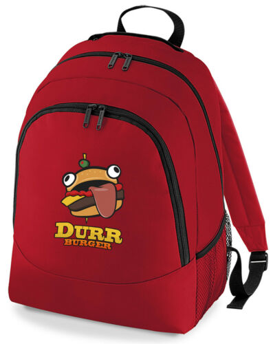 Gaming  Durr Burger Rucksack Bag