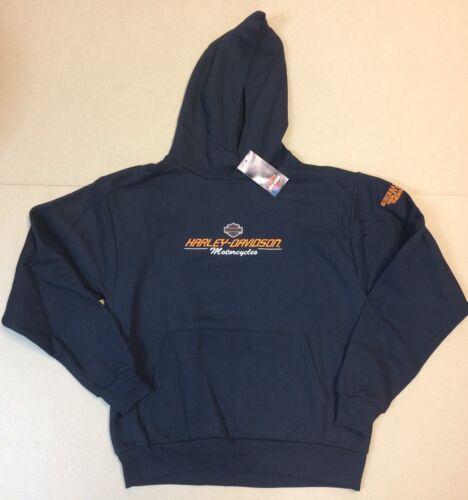 Harley-Davidson Boy/'s Youth Black Pullover Hoodie sweatshirt XL 18//20