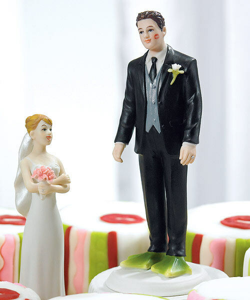 Almost Perfect Frog Prince Funny Wedding Cake Topper