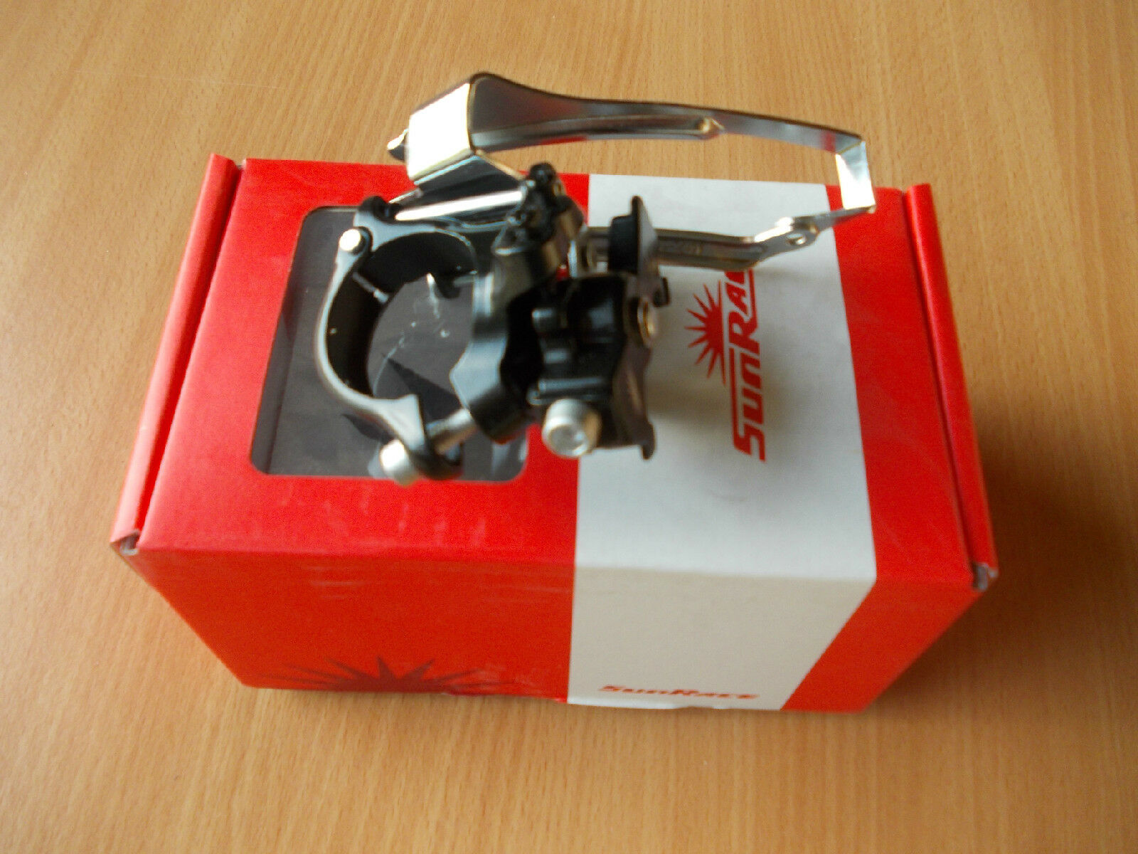 Ciclo Sunrace doble Pull Desviador Delantero Mech 31.8 o 34.9mm Marco Tamaño