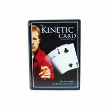 The Kinetic Card DVD - Includes Gimmicks - Magic Tricks - New