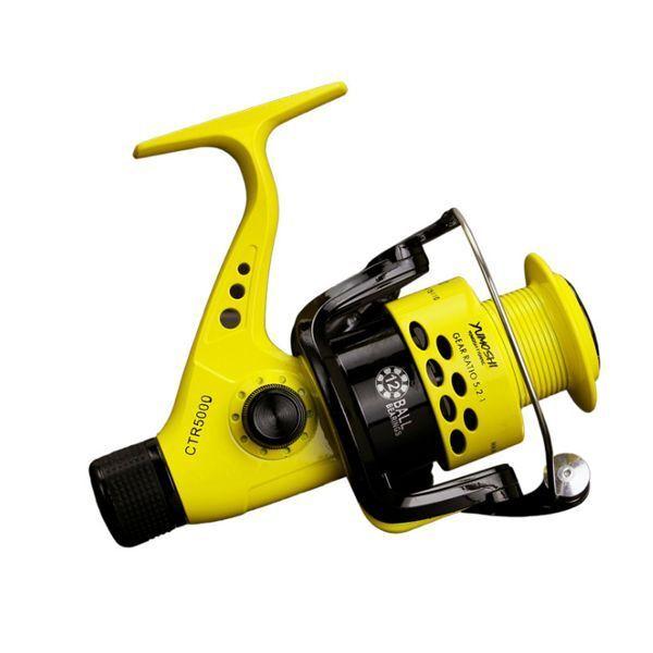 Fishing Brake Reel 12BB Rear Brake Fishing Wheel Collapsible Interchangeable Arm Spining Reel 086fc7