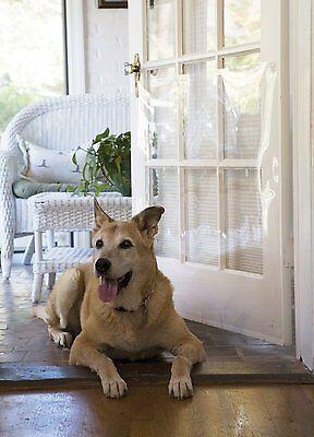 Home DOOR Clear Shield Screen Pet Prevents Scratch ProtectoR Guard Shatterproof
