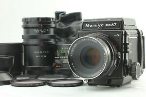 N-Nuovo-di-zecca-Mamiya-RB67-Pro-S-SEKOR-C-127mm-F3-8-SEKOR-C-65mm-F4-5-Japan-a353