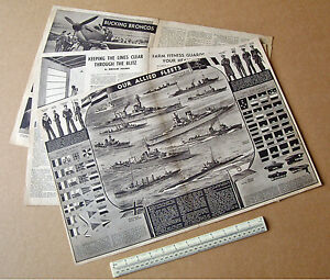 Our-Allied-Fleets-Centrepread-Modern-World-Homefront-Magazine-1941