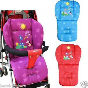 New Baby Infant Stroller Cushion Pad Giraffe Car Seat Pad