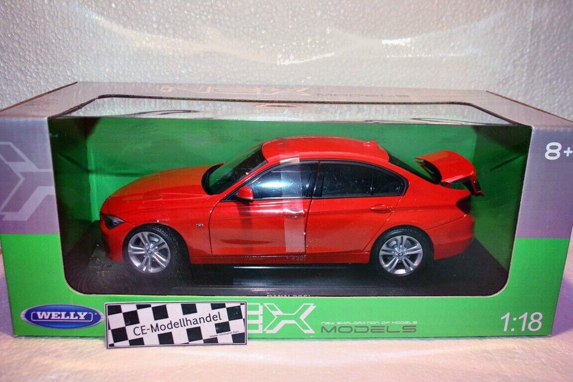 BMW 335i • NEU • Welly • 1 18 18 18 009e00