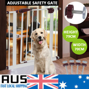 79cm-Tall-Baby-Child-Safety-Security-Gate-Adjustable-Pet-Dog-Stair-Barrier-Fance