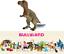 Figurine-Dinosaures-Tyrannosaure-Peint-Main-10-cm-Jurassic-Jouet-Bullyland-61344 miniature 7