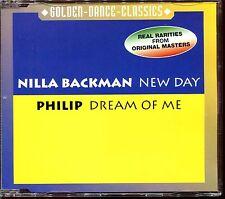 NILLA BACKMAN (NEW DAY) / PHILIP (DREAM OF ME) - ZYX ITALO DISCO CD MAXI [1362]