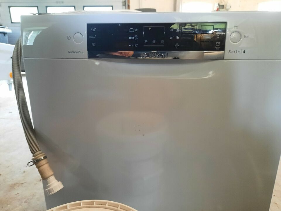 Bosch opvaskemaskine SMU46KW02S, indbygning, b: 60 d: 58