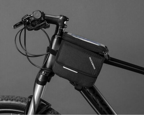 ROCKBROS Rahmentasche Fahrradtasche Oberrohrtasche für Handy 6,0/'/'  DHL