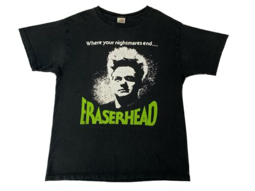 Vintage 90s Rare David Lynch Eraserhead Movie Tee