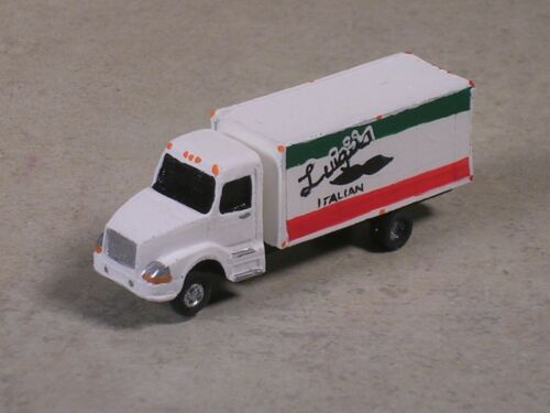N Scale 2010 Luigi/'s Italian Food Volve Delivery Truck