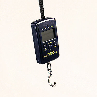 Portable Electronic Hanging Fishing Digital Pocket Weight Hook Scale 40kg/10g