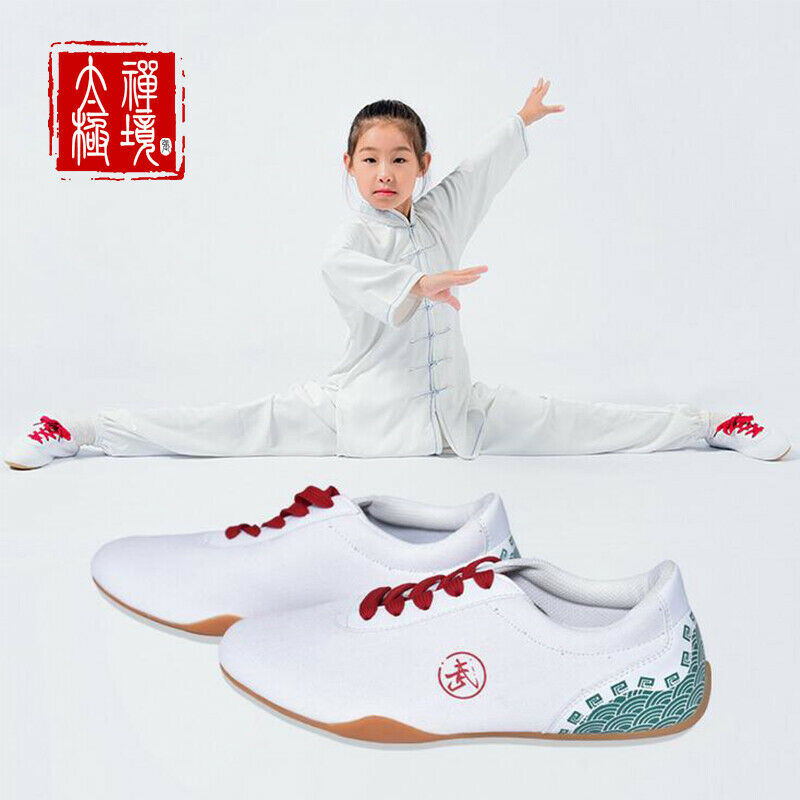 Martial Arts Trainers shoes Sneakers Sport Canvas Footwear  Taekwondo shoes White  lowest prices