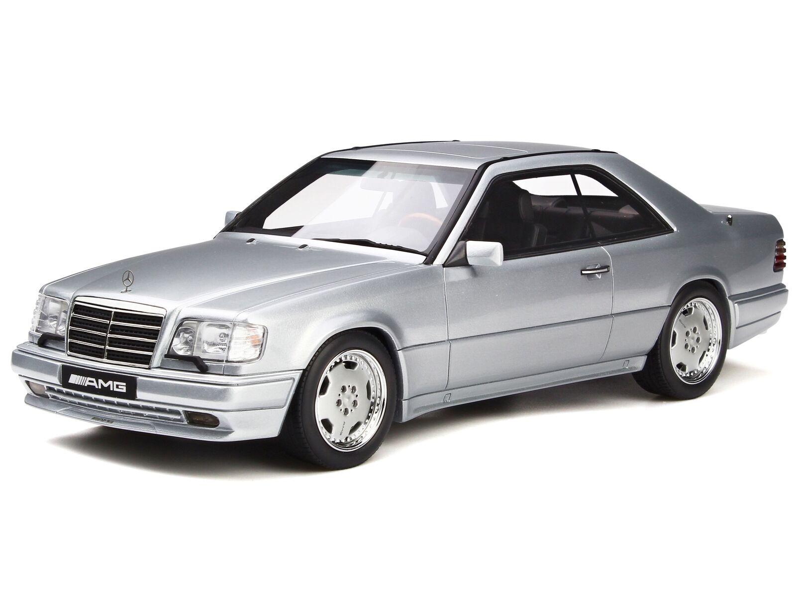 Mercedes C124 E36 AMG Coupe brillant argent véhicule miniature miniature miniature OT731 Otto 1:18 | Authentique  a1a61d