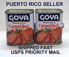 PuertoRico Flag Goya Corned Beef Meat Sandwich Spread SpanishStyle CookingFood4a