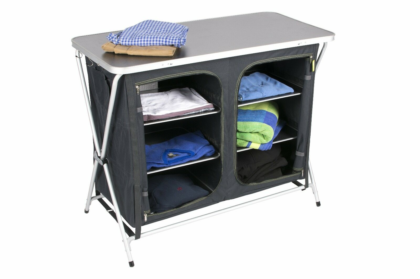 Xpress schnell faltbar Zelt Küchenschrank Speisekammer Camping Tisch Zara Kampa