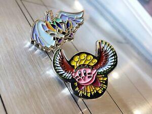 Lugia-Meta-Knight-amp-Ho-oh-Kirby-Metal-Enamel-Pin-Nintendo-Lapel-Pokemon-Pin