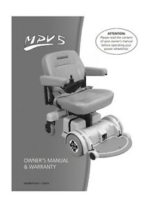 hoveround mpv5 tech repair eguide emanual for wheelchair owners s rh ebay com Hoveround MPV4 Schematic Hoveround MPV4 Schematic