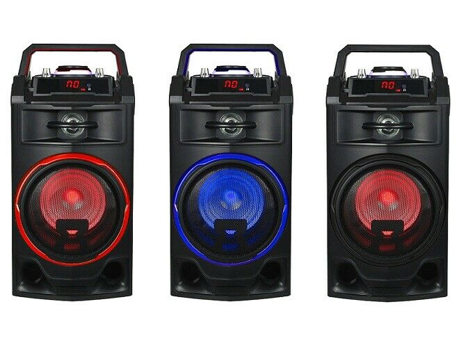 s l1600 - ALTAVOZ PORTATIL 25W ALTAVOCES BLUETOOTH USB RADIO FM KARAOKE BATERIA RECARGABLE