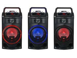 ALTAVOZ-PORTATIL-25W-ALTAVOCES-BLUETOOTH-USB-RADIO-FM-KARAOKE-BATERIA-RECARGABLE