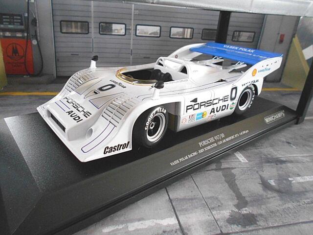 Porsche 917 917/10 Spyder Vasek polak can el 1973 #0 scheckter m Minichamps 1:18