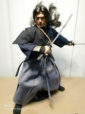 1//6 Takeshi Kaneshiro Onimusha 3 Akechi Samanosuke Head Carving For 12/'/' Figure