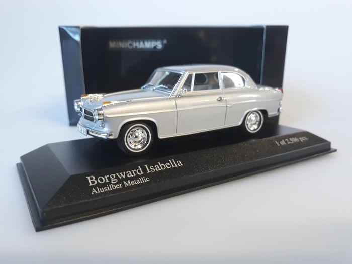 Minichamps 400 096000 Borgward Isabella limusina 1959 Aluplata 1 43