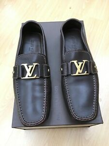 713189003214 genuine louis vuitton monte carlo mens loafers shoes uk 10 44 driving ...