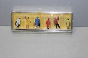 Preiser-4020-Figurines-Voyageurs-et-Abschiednehmende-Echelle-H0-Ovp