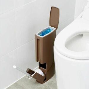 Bathroom Trash Can Plastic Toilet Brush Waste Bin Dustbin Bucket Cleaning Tools Ebay
