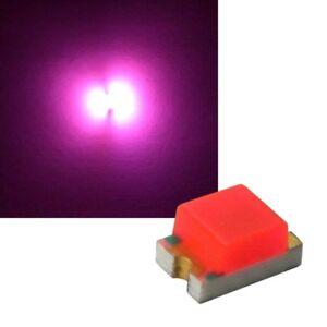 100-Rosas-SMD-Leds-0805-Smds-Mini-Led-Pink-Rosa-Rose-Diodos-Emisores-de-Luz