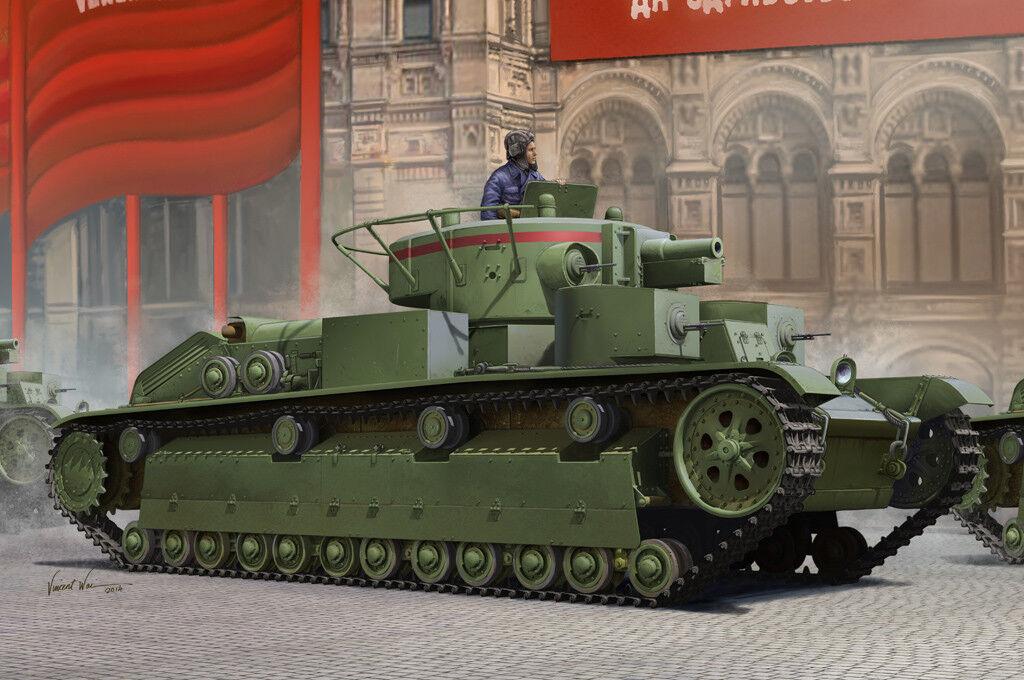 83851 Hobby Boss SOVIET T-28 MEDIUM TANK Static 1 35 Model Kit Armored Car DIY