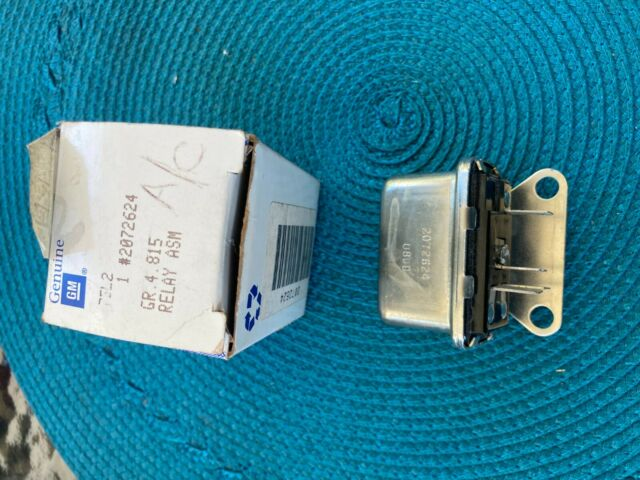 Details about  /For 1975-1977 Chevrolet K20 HVAC Blower Motor Cutout Relay 26939ZN 1976