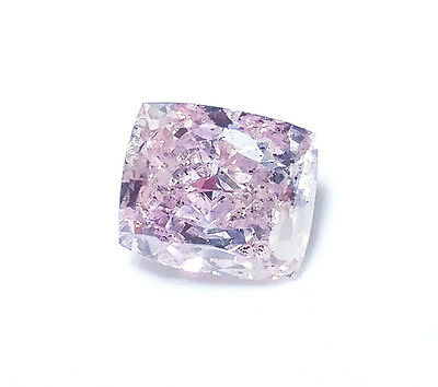 0.76 CT Pink Diamond -  Natural Loose Fancy Pink Purple Color GIA Cushion SI2  | eBay