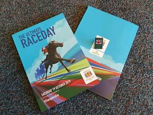 ASCOT-Race-Card-amp-badge-QIPCO-BRITISH-CHAMPIONS-DAY-19th-October-2019-Brand-New