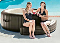 Inflatable Hot Tub Bench Portable Intex Spa Shaped Seat Accessory Piece