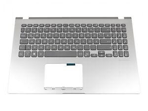 Asus X509FA  original Tastatur inkl. Topcase DE (deutsch) grau/silber