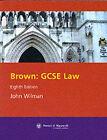 GCSE Law by W.J. Brown (Paperback, 2002)