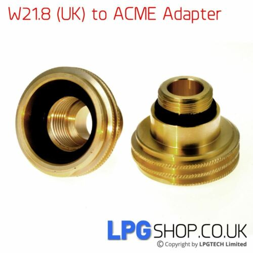to ACME Autogas Filling Point Adapter UK Bayonet W21.8