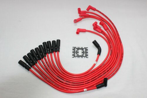 Optispark II Distributor Red 8.5mm Spark Plug Wires Coil 1996 Corvette LT1 5.7L