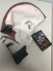 God-Of-War-Kratos-Costume-Mask-Ps2-Promo-Item-2009-New-With-Tag