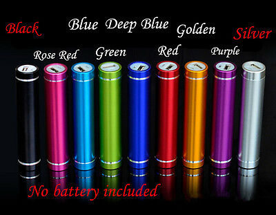 2600mAh Portable External USB Power Bank Battery XI CA Charger For Mobile Phone