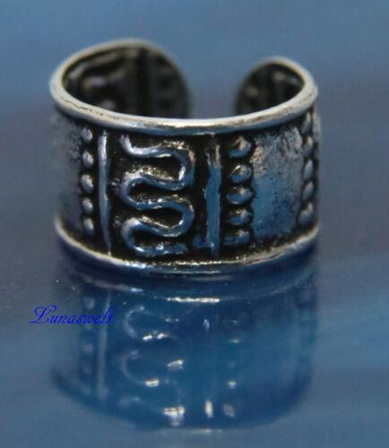 Schlichte Ohrklemme 925 Silber  Keltisches Motiv