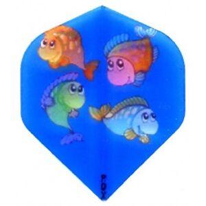 EAGLE-HI-VIS-HAPPY-FISH-BLUE-STANDARD-SHAPE-FLIGHTS