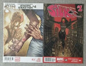 Amazing-Spider-Man-4-amp-Silk-1-1st-app-Silk-MEXICAN-EDITIONS