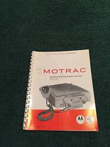 Details about Original Manual Motorola Mobile FM Two-Way Radio 136-174 MC